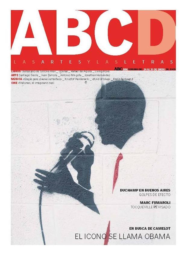 Grafiti para el número del 24 de enero de 2009