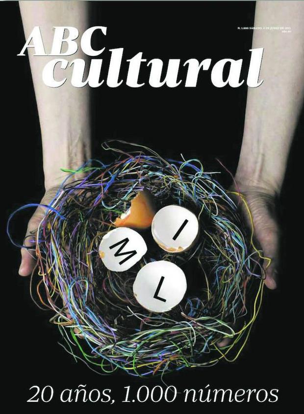 La portada del número 1.000 del suplemento (4 de junio de 2011) fue creada por Daniel Canogar