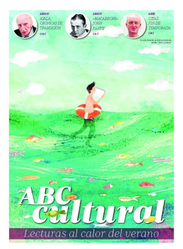 Una portada veraniega para el número del 27 de julio de 2013