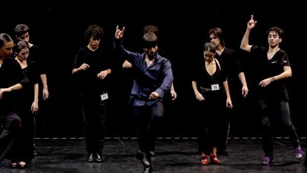 Jóvenes audicionan para formar parte del elencio del Ballet Flamenco de Andalucía