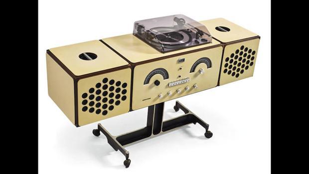 «Brionvega Radiophonograph, model no. RR 126», de Pier Giacomo y Achille Castiglioni