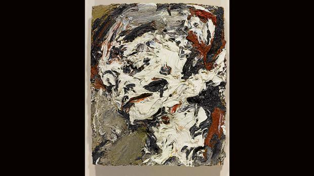 «cABEZA DE Gerda Boehm», deFrank Auerbach,