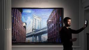 Bob Dylan exhibe su pintura en Londres y se compara con Kandinsky