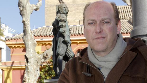 El escritor y periodiosta de ABC de Sevilla fernando Carrasco