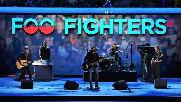 Foo Fighters, durante un concierto