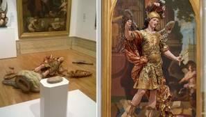 Un turista derriba una escultura del s.XVIII en Lisboa al hacer una foto