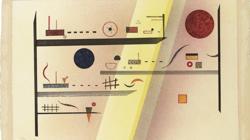 «Horizontal dividida», de Kandinsky