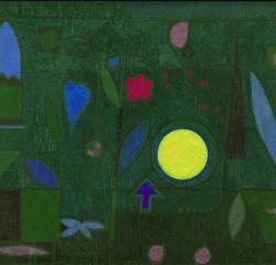 «Luna llena en el jardín», de Klee