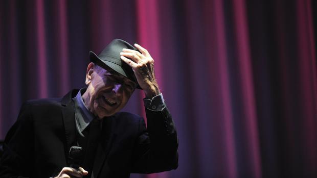 Leonard Cohen, en el Palau Sant Jordi de Barcelona en 2012