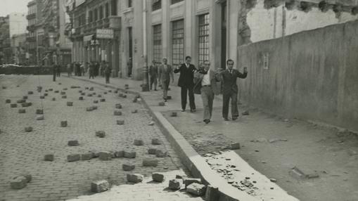 Disturbios en Barcelona en octubre de 1934