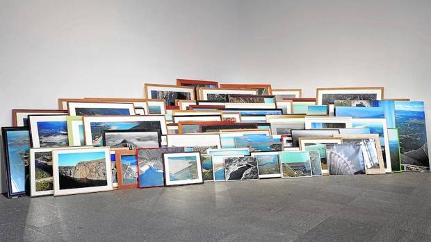 Obra de Ibon Aranberri presente en «Ficciones y territorios»