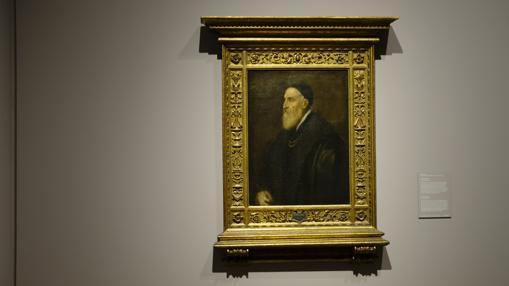 «Autorretrato» de Tiziano