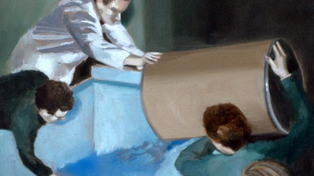 Obra de la serie «Los dibujantes de sombras»