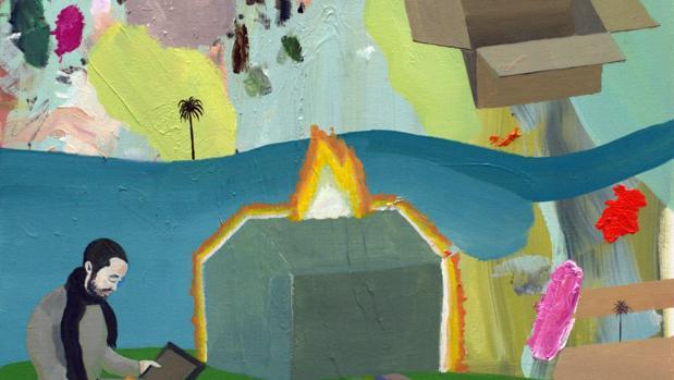Obra de la serie «Combustible» (2014)