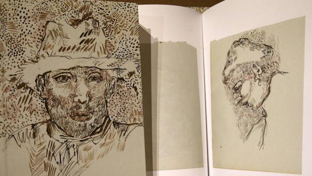 Copia del libro «Vincent van Gogh: El cuaderno perdido de Arles»