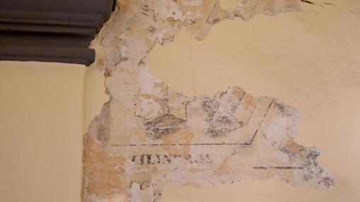 Un fragmento de las pinturas descubiertas