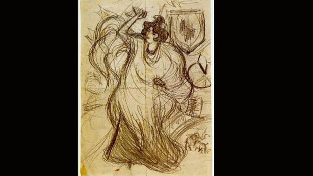 «Bailaora», de Pablo Picasso