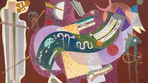 «Rigide et courbé», de Kandinsky