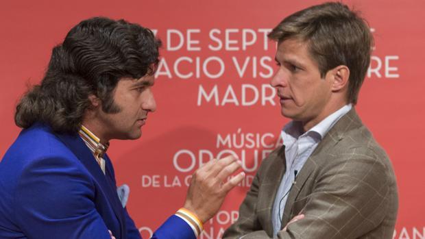 Morante y El Juli, en una imagen de archivo