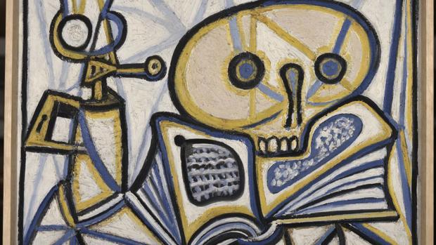 «Vanitas», obra de Picasso de 1946 llegada del museo del artista en París
