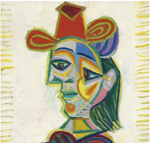 «Buste de femme (Dora Maar)», de Picasso