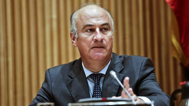 Fernando Benzo, en una comparecencia paralmantaria del año pasado