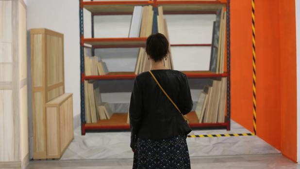 Obra de Gloria Martín presente en la muestra