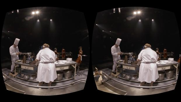 Una escena de «La cocina»