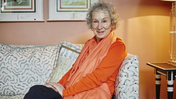 La escritora canadiense Margaret Atwood, fotografiada en Londres poco antes de la entrevista