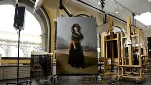 La «Duquesa de Alba de negro», de Goya, recobra su esplendor perdido