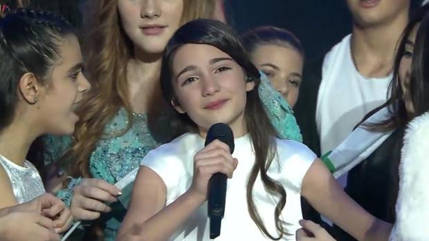 La ganadora Mariam emocionada tras el triunfo