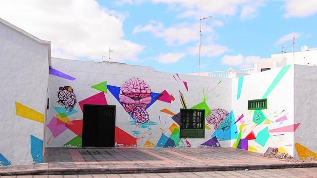 Sede de El Quirófano, en Lanzarote, espacio gestionado por el colectivo Parto Cerebral