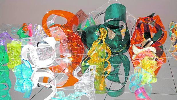 Obra de la serie «Trabajo absoluto», de Juan Luis Moraza