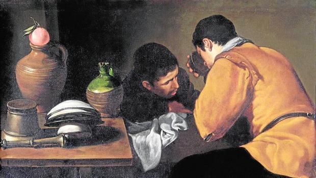 «Dos muchachos comiendo», de Velázquez (propiedad del museo londinense Apsley House)
