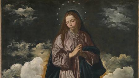 Una de las «Inmaculadas» de Velázquez