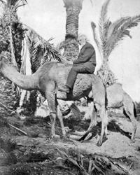 Unamuno a lomos de un camello