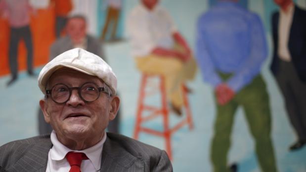 El artista David Hockney