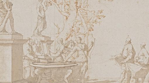 «Aquiles entre las hijas de Licomedes», de Ribera