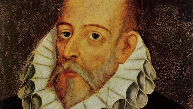 Retrato de Miguel de Cervantes, autor del Quijote