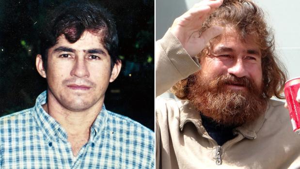 El náufrago José Salvador Alvarenga, antes y después de su rescate