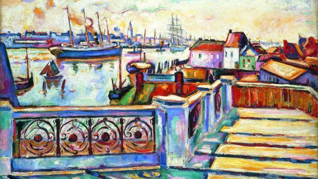 «Le Port d'Anvers» (1906), de Othon Friesz