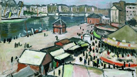 «La Fête Foraine au Havre» (1906) de Albert Marquet