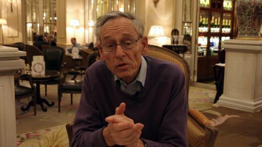 John Elliott el viernes pasado en el hotel Ritz