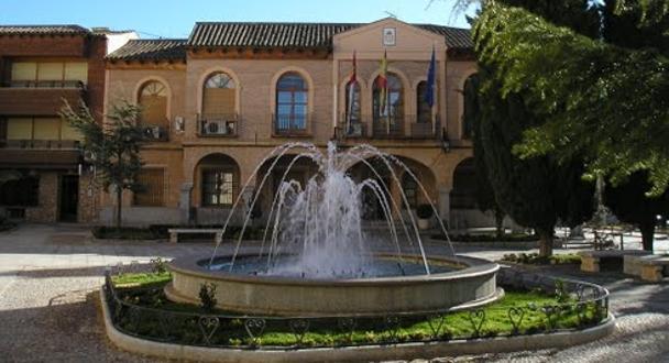 El centro de Almoradiel