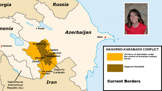 Yolanda Fernández Jalvo trabajaba en la Cueva de Azij, que desde hace poco pertenece a la autoproclamada república de Nagorno Karabaj, entre Armenia y Azerbaijan