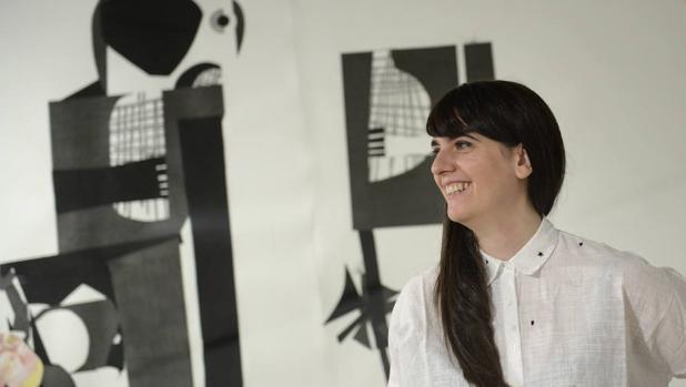 Abigail Lazkoz en el Museo ABC