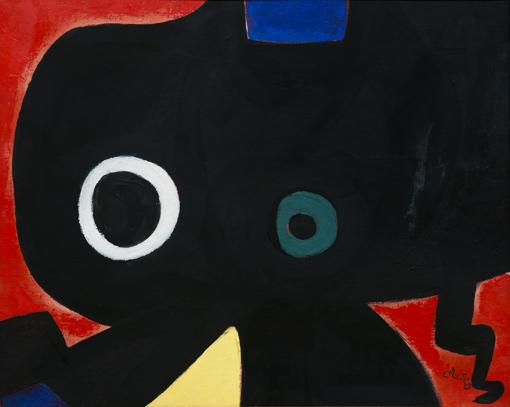 «Personnage»´(1973), de Joan Miró