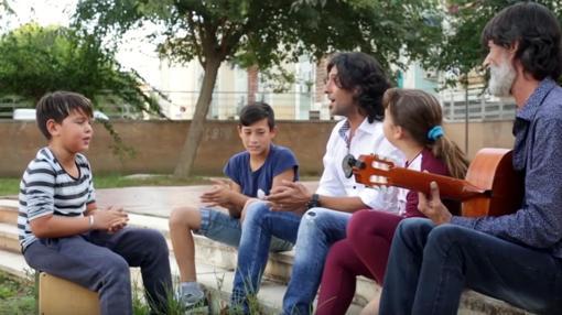 Un momento del documental «Alalá»