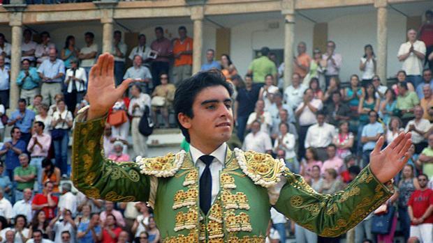 Miguel Ángel Perera, en Cáceres