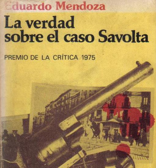 Cubierta de «La verdad sobre el caso Savolta»